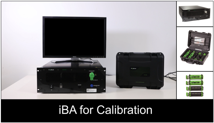 iBA Calibration with the Analyzer Calibration Extender
